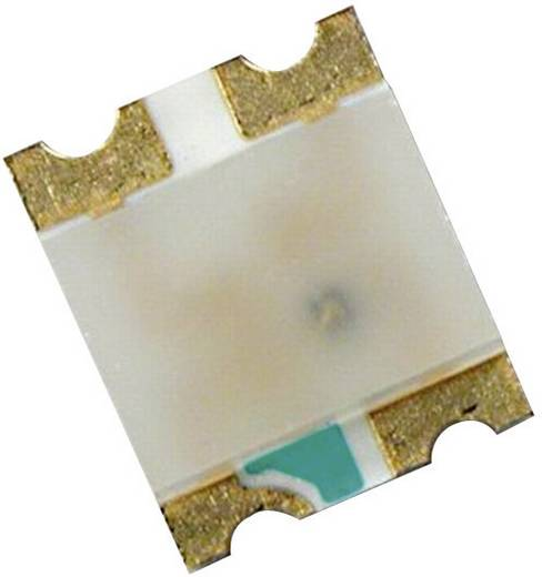 2 színű SMD Top-Mount Chip-LED 35/10 mcd, 120°, borostyán/kék, Avago Technologies HSMF-C169