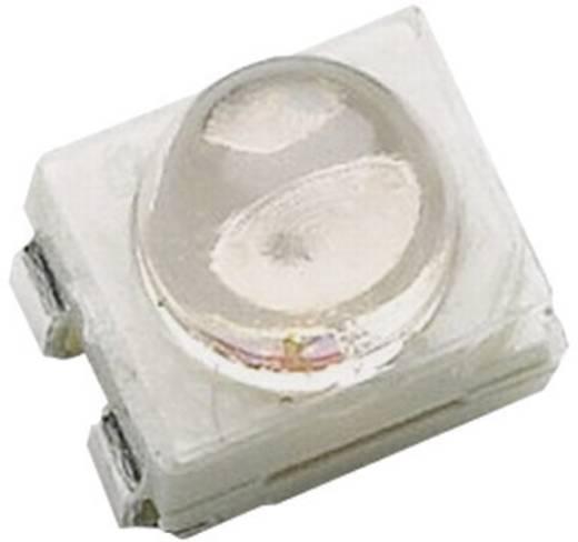 SMD LED lencsével, PLCC4, 3300 mcd, 60°, borostyán, Avago Technologies HSMA-A461-X83M1
