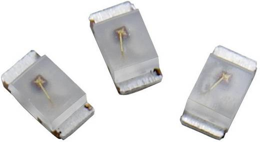 SMD LED 1206, 15 mcd, 170°, 20 mA, 2,2 V, zöld-sárga, Avago Technologies HSMG-C150