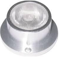 Nagyteljesítményű LED modul,3/60°, 1W sárga ledxon