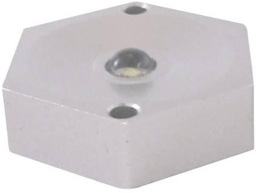 LED modul, 66 lm, 110°, 1 W, 31 x 27 x 9 mm, melegfehér, LEDxON 9008003 ALUSTAR