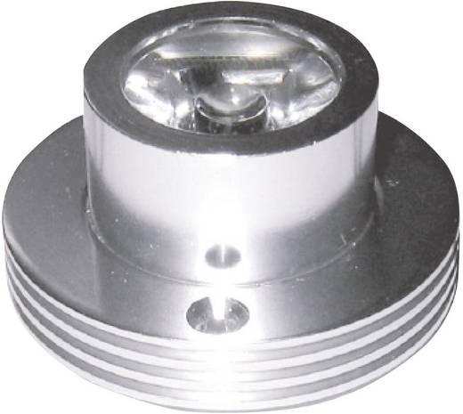 Nagyteljesítményű LED modul,10°, 3W hidegfehér