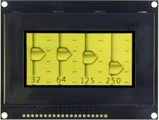 OLED kijelző 6,86 cm, 128 x 64 pixel, kijelző felület: 63,94 x 31,94 mm, sárga, VGY12864Z-S003