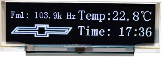 OLED kijelző 7,92 cm, 256 x 64 pixel, kijelző felület: 76,78 x 19,18 mm, kék, VGB25664A-S001