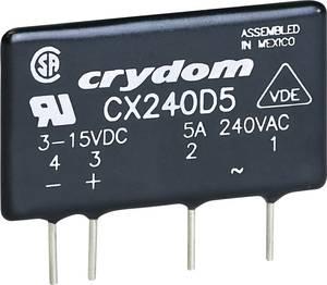 Elektronikus SIP nyák teljesítmény relé 5 A 12 - 280 V/AC, Crydom CX240D5R Crydom