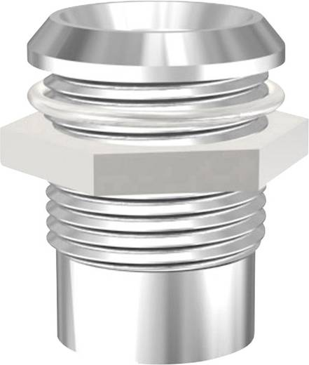 Króm foglalat 10 mm-es LED-ekhez. Signal Construct RTM 10-92