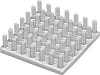Hűtőborda 26,3 K/W 10 x 10 x 12,5 mm, Fischer Elektronik ICK S 10 X 10 X 12,5 (10006847) Fischer Elektronik