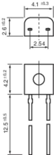 Hőmérséklet szenzor PT100 TO 92 B