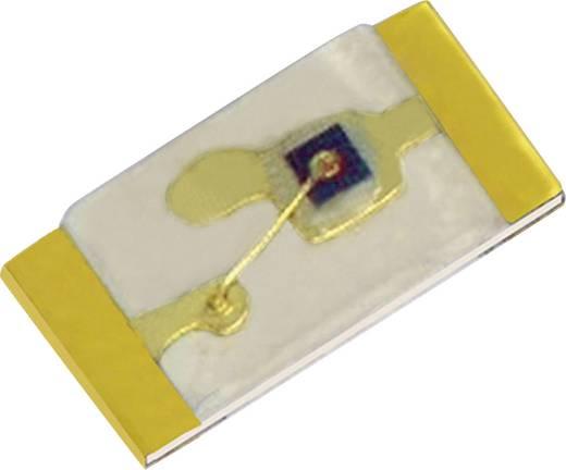 SMD LED 100 mcd, 120°, sárga, Kingbright KPG-1608SYKC-T
