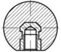 TOOLCRAFT DIN 319 műanyag gömbfej, belső menet: 32 M 8, 10 db (TO-5447565) TOOLCRAFT