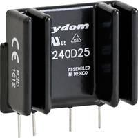 Elektronikus SIP teljesítmény relé 25/10 A 12-280 V/AC, Crydom PF240D25 (PF240D25) Crydom
