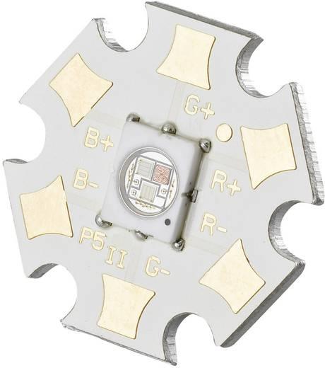 RGB Power LED csillag lapon 35/57/13 lm, 120°, 3x1 W, melegfehér, Seoul Semiconductor P5 II RGB