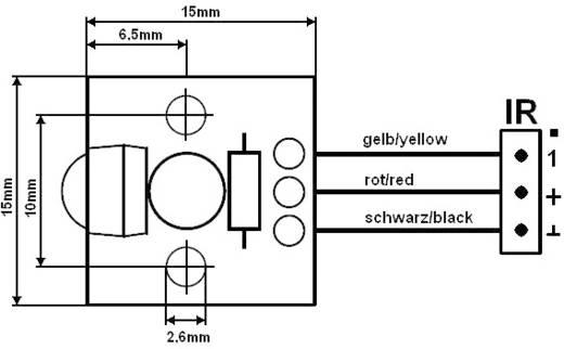 Univerzális infravevő PCB