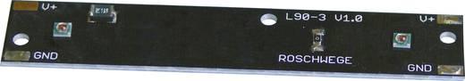 2 részes LED panel 188 lm, 115°, Q3, melegfehér, Cree XP-E LZH-2W3000K