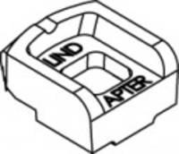 Tétel 82001 GTW 40 AK horganyzott LINDAPTER kapcsok AK-vel, mélyedésű forgófejjel, rövid átmeneti magasság Méretek: KM