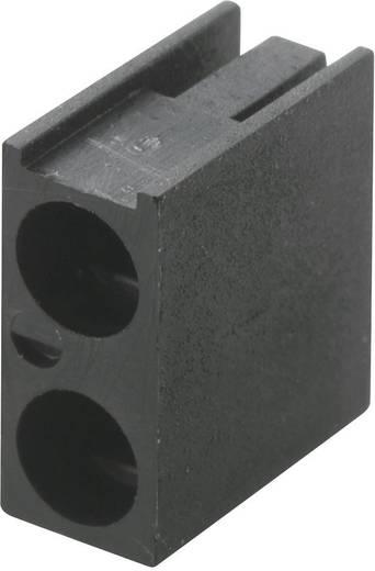 LED távtartó 3 mm-es LED-ekhez, fekete, KSS PLD2-3A