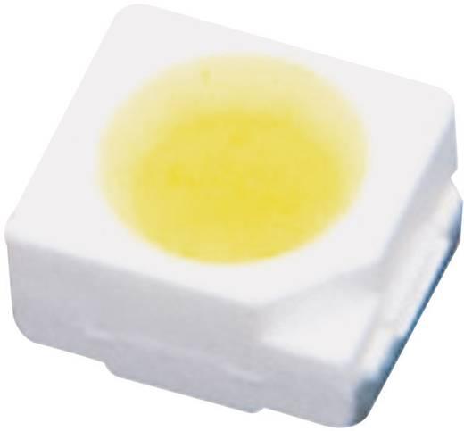 SMD LED PLCC2, 2500 mcd, 120°, 20 mA, 2,9-3,6 V, fehér, 3528