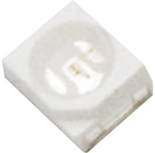 Szuperfényes Top-View LED PLCC2, 800 mcd, 120°, 20 mA, 3-3,8 V, zöld, 3528