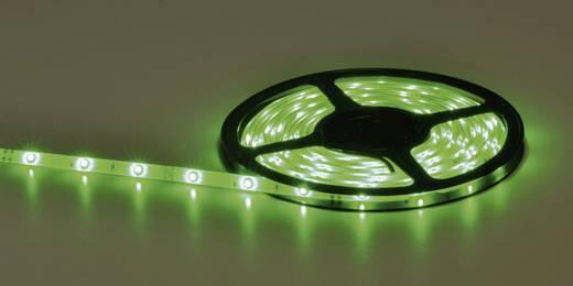 Általános LED csík, öntapadó, 5 m, kiöntött kivitel 12 V/DC, zöld
