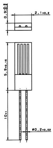 Hőmérséklet szenzor PT 2000 B