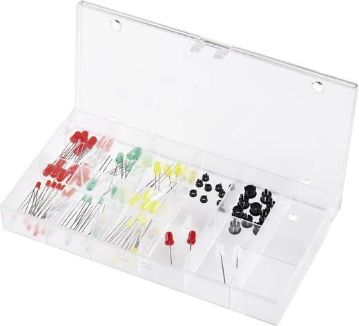 LED készlet, 94 részes, dobozos