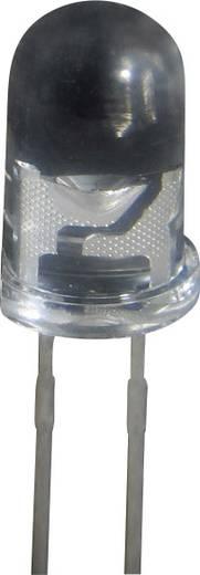 LED kivezetéssel Sárga Kerek 5 mm 200 mcd<br