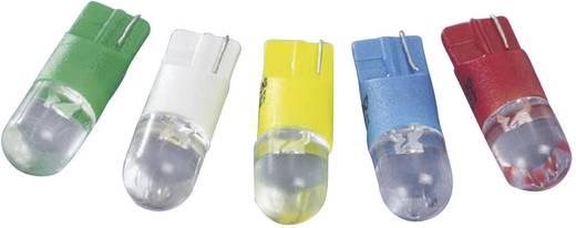 LED izzó, W2,1x9,5d, 12 V, kék, T10 Wedge Base Lamp (Dome), Barthelme 70113008