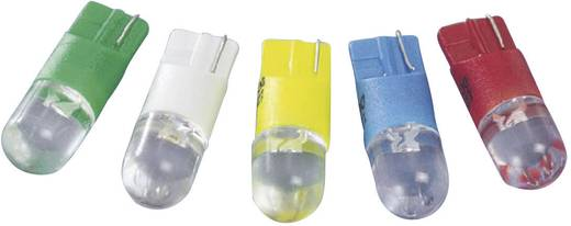 LED izzó, W2,1x9,5d, 6 V, fehér, T10 Wedge Base Lamp (Dome), Barthelme 70113022