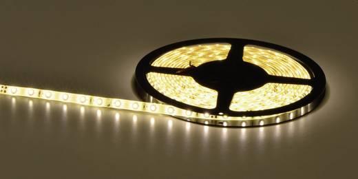 Általános LED csík, öntapadó, 5 m, kiöntött kivitel 24 V/DC, melegfehér
