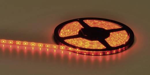 Általános LED csík, öntapadó, 5 m, kiöntött kivitel 24 V/DC, piros