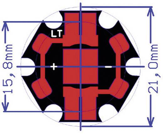 Cree XLamp XR-E LED csillag lapon 93,9 lm, 90°, semleges fehér, CREE XREWHT-L1-STAR-00BE5