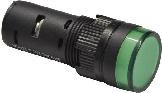 LED-es Pilot Lihgt izzó 16 mm 24 V DC/AC piros Barthelme 58802411