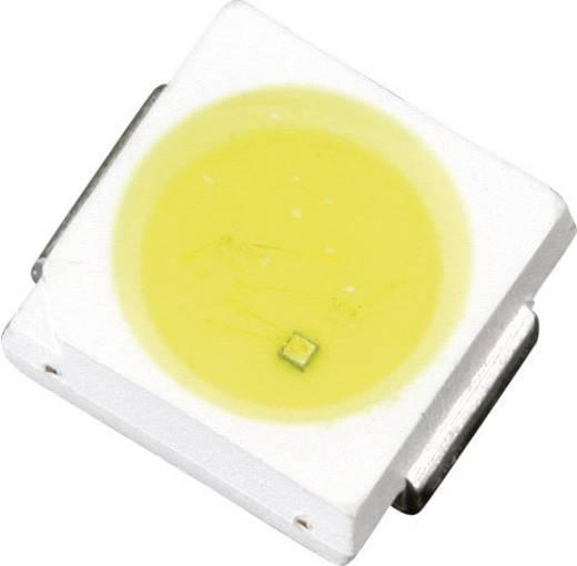 Nagy hatékonyságú 4 chippes SMD LED PLCC2, 8500 mcd, 120°, 80 mA, 2,8-3,6 V, sárga-fehér, Lumimicro LMFLC4500Z-YW Si