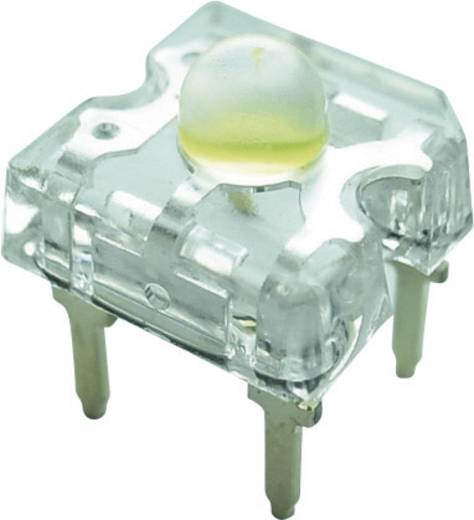 Yoldal Super Flux LED, 7200mcd, 50°, fehér, YSF-W319EHY