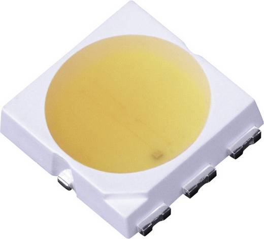 Nagyteljesítményű SMD LED PLCC6, 120°, 60 mA, 2,9-3,4 V, melegfehér, LG Innotek LEMWS52P80LZ00