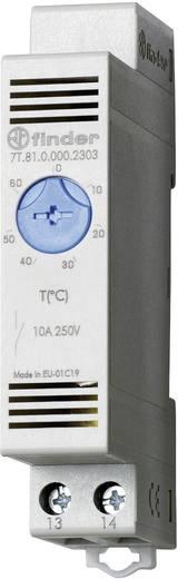 Kapcsolószekrény Vari termosztát, Finder 7T.81.0.000.2303 (Ventilátor) +0 ... +60 °C 10 A