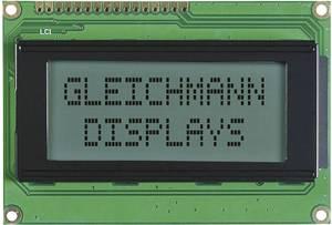 Alfanumerikus LCD modul 16 x 4 , szám magasság: 4,75 mm fekete/fehér, Gleichmann GE-C1604A-TFH-JT/R (GE-C1604A-TFH-JT/R) Gleichmann