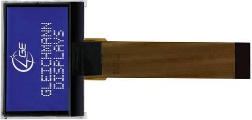 Alfanumerikus LCD modul 16 x 2 , szám magasság: 5,55 mm kék/fehér, Gleichmann GE-O1602F-TMI-AT/R