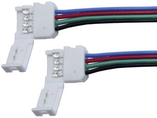 LED-es dekorfény csatlakozókábel 4 pólusú, RGB LED csíkokhoz Max. 24 V/DC Barthelme 50080012