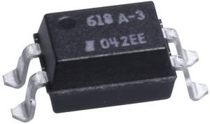 Optocsatoló 1 db fototranzisztorral, DIL 4 SMD, Isocom Components SFH618A-3XSMT/R Isocom Components