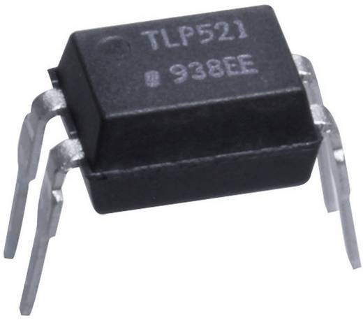 Optocsatoló 1 db fototranzisztorral, DIL 4, Isocom Components TLP521