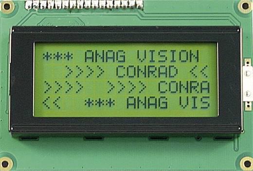 LCD modul 4X16 szám form.