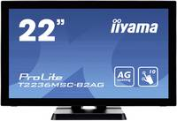 "Iiyama ProLite T2236MSC-B2AG Érintőképernyős monitor 54.6 cm (21.5 "") EEK: B (A+ - F) 1920 x 1080 pixel 16:9 8 ms VGA, U Iiyama"