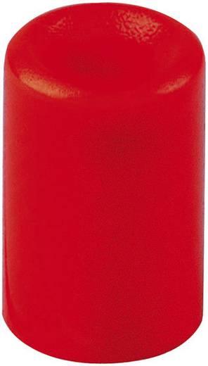Nyomógomb sapka, piros, Mentor 1446.0202