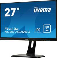 Iiyama ProLite XUB2792QSU-A LED monitor (felújított) 68.6 cm (27 coll) EEK A (A+++ - D) 2560 x 1440 pixel WQHD 5 ms Kije Iiyama
