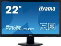 Iiyama ProLite E2283HS LED monitor (felújított) 55.9 cm (22 coll) EEK B (A+++ - D) 1920 x 1080 pixel Full HD 1 ms Kijelz Iiyama