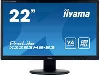 Iiyama ProLite X2283HS LED monitor (felújított) 55.9 cm (22 coll) EEK A (A+++ - D) 1920 x 1080 pixel Full HD 4 ms Kijelz Iiyama