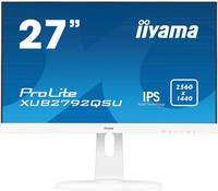 Iiyama XUB2792QSU-W1 LED monitor (felújított) 68.6 cm (27 coll) EEK B (A++ - E) 2560 x 1440 pixel WQHD 5 ms Kijelző csat Iiyama