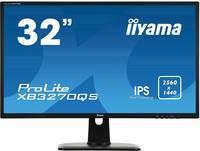 Iiyama ProLite XB3270QS LED monitor (felújított) 81.3 cm (32 coll) EEK C (A+++ - D) 2560 x 1440 pixel WQHD 4 ms Kijelző Iiyama