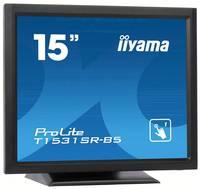 Iiyama ProLite T1531SR Érintőképernyős monitor 38.1 cm (15 coll) EEK A (A+++ - D) 1024 x 768 pixel XGA 8 ms Kijelző csat Iiyama